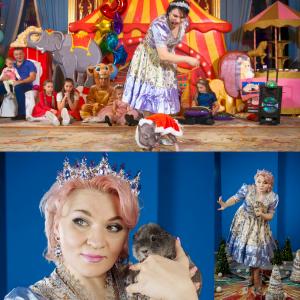 Шоу мини-пигов в Москве. Заказать детский праздник
